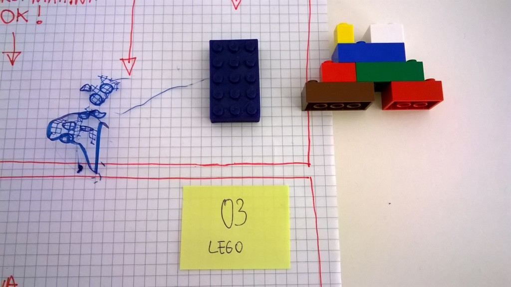 tte-003 / mattoncino LEGO